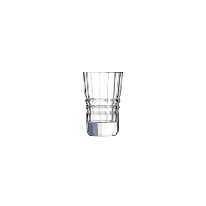 Bicchiere Architecte in vetro decorato cl 6