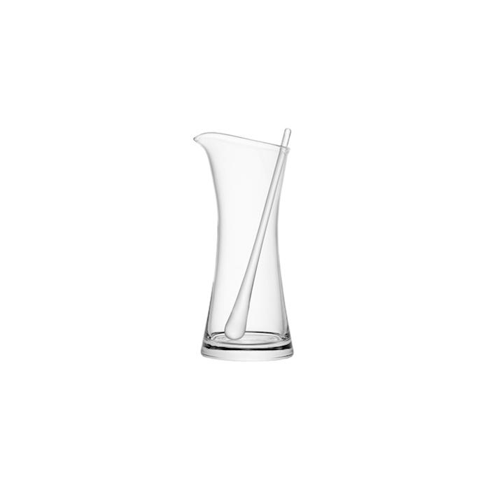 Caraffa Bar con agitatore LSA in vetro lt 1,2