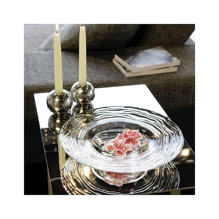 Pasta bowl Oasi Vidivi in vetro trasparente cm 30