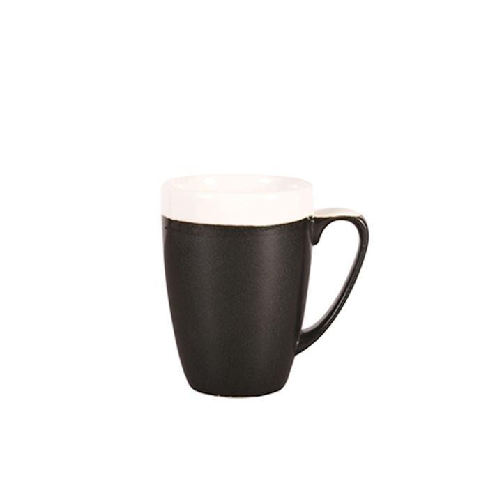 Tazza Bicolor Churchill in ceramica vetrificata cl 34
