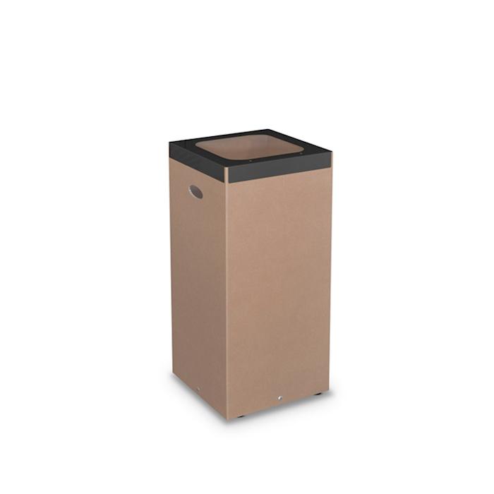 Gettacarte Eco in cartone con ghiera di acciaio cm 80x38
