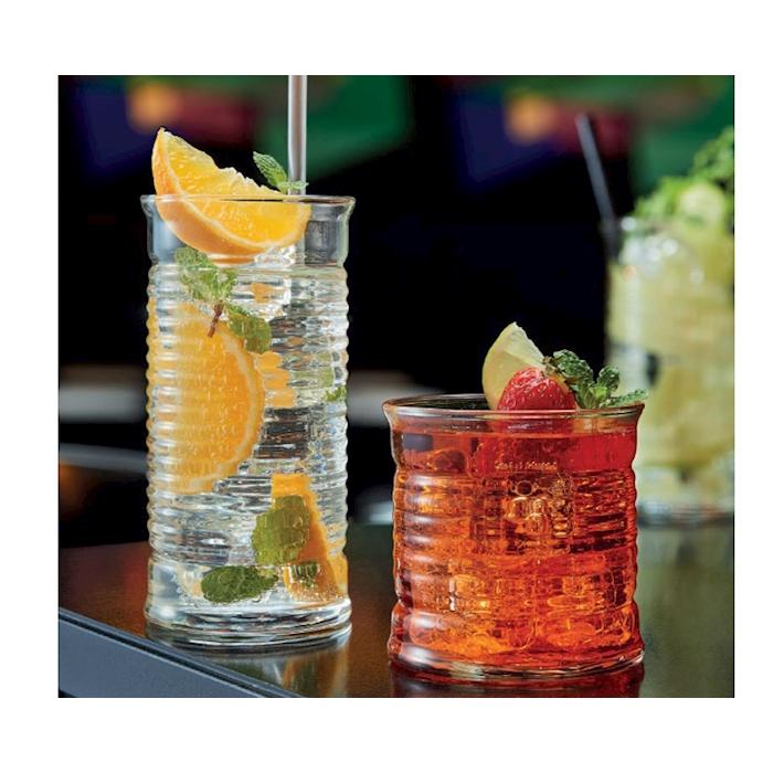Bicchiere Tomato Be Bop basso in vetro cl 30