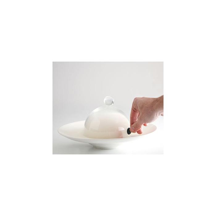 Cupola Aladin 100% Chef in vetro cm 18