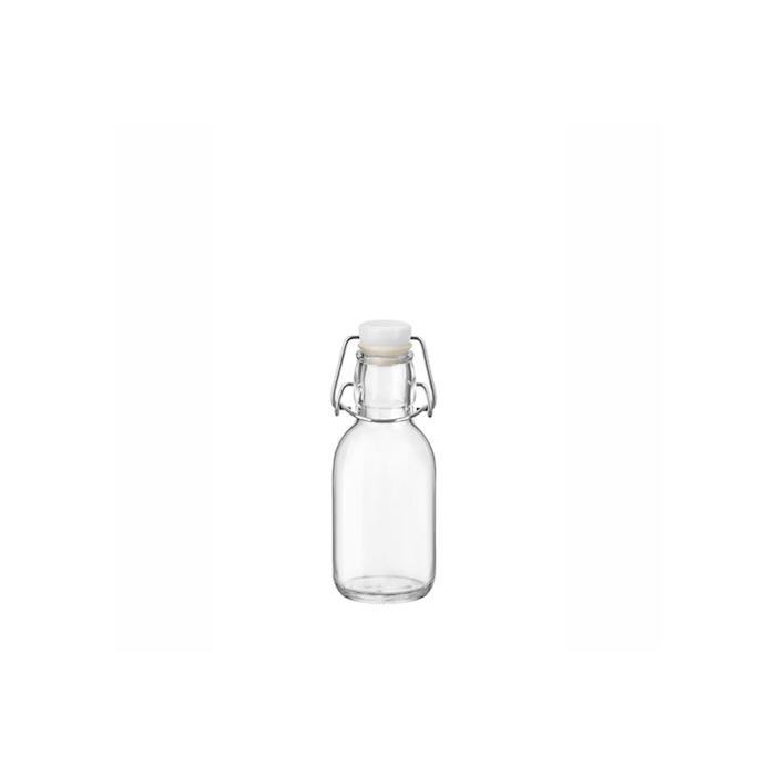 Bottiglia Emilia Bormioli Rocco con tappo ermetico in vetro cl 25