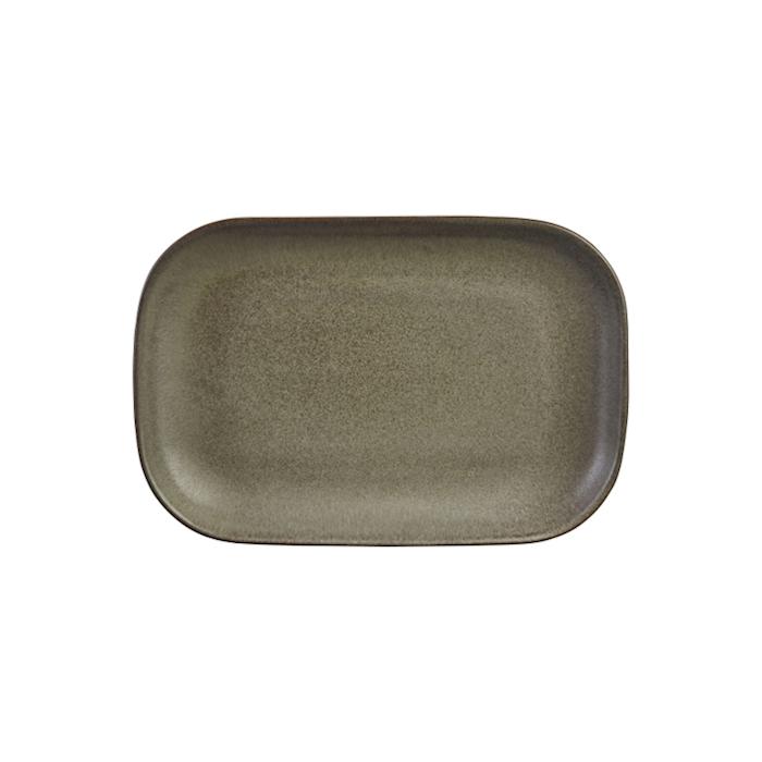 Vassoio rettangolare Stoneware Antigo terra cm 24x16,5
