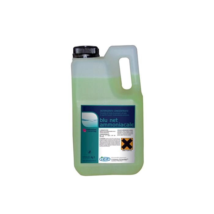 Lavapavimenti e superfici ultraforte Blu Net ammoniacale kg 5