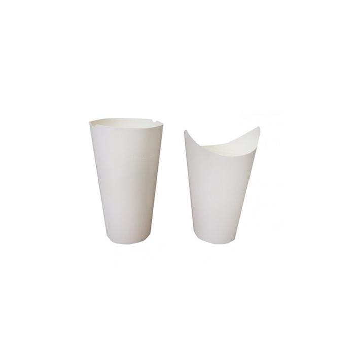 Contenitore da asporto monouso per pasta in cartone bianca cl 60