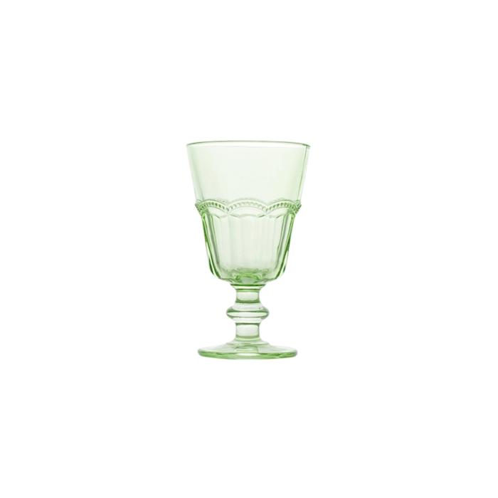 Calice Lace in vetro verde cl 18