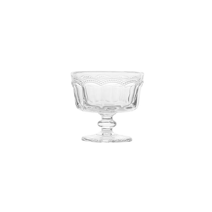 Coppa gelato Lace in vetro trasparente cl 18,5