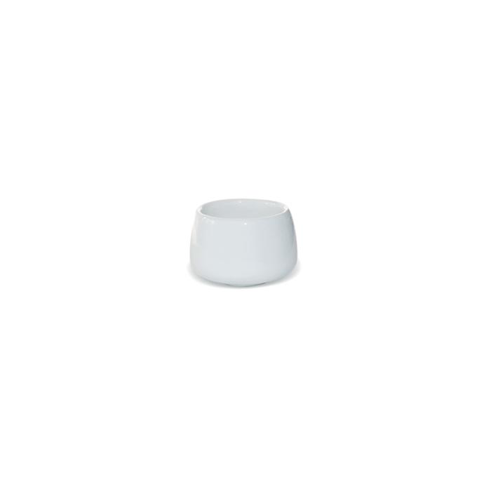Coppetta Java Miniature in porcellana bianca cm 4,5x3,5