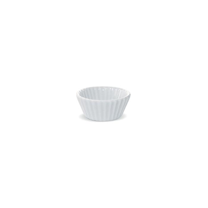 Mini cup cakes Miniature in porcellana bianca cm 5,5