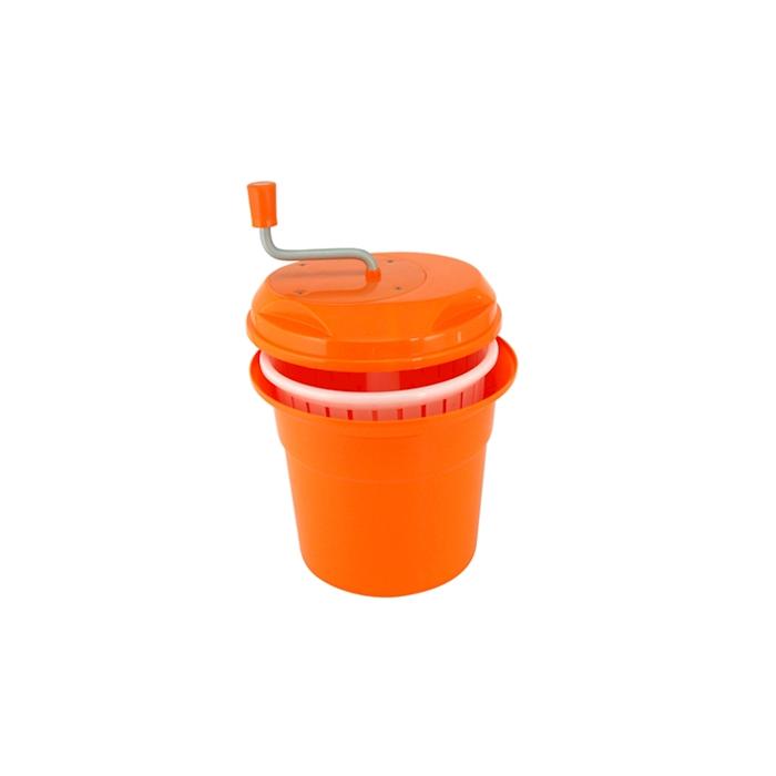 Centrifuga scolainsalata in plastica arancione lt 12