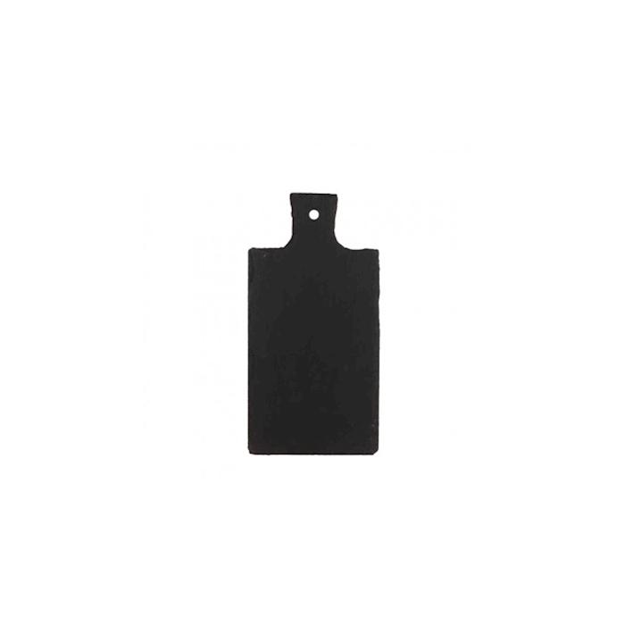 Tagliere con manico in ardesia cm 30,5x15,2x0,6