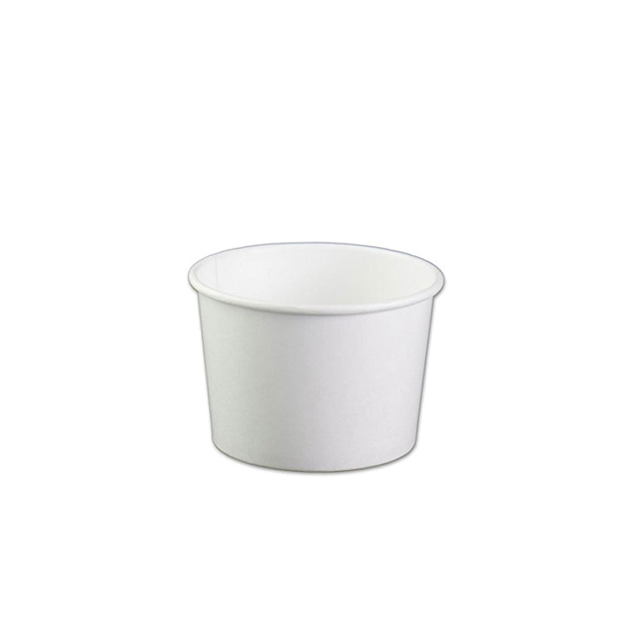 Contenitore soup bowl monouso Duni in carta bianca cl 55