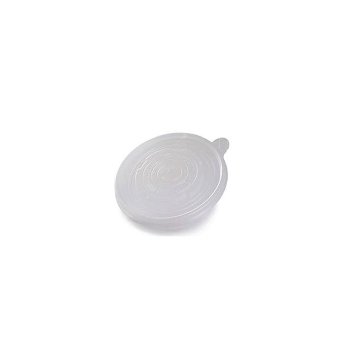 Coperchio monouso Duni senza foro in pp trasparente per ciotola minestra cm 9