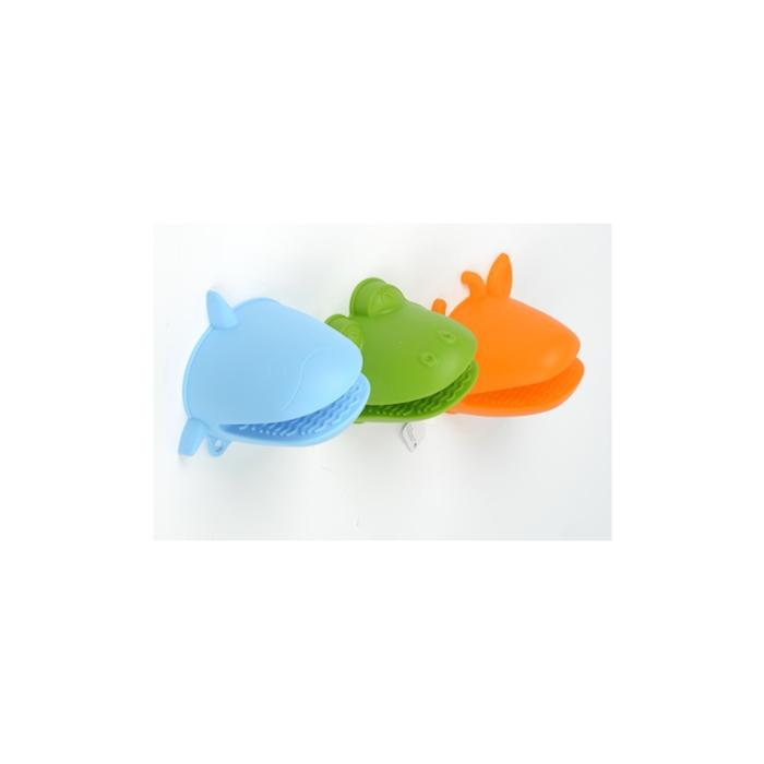 Guanto da forno in forme e colori assortiti in silicone