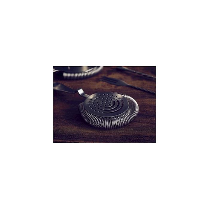 Strainer senza alette linea Vintage in acciaio inox anticato cm 18