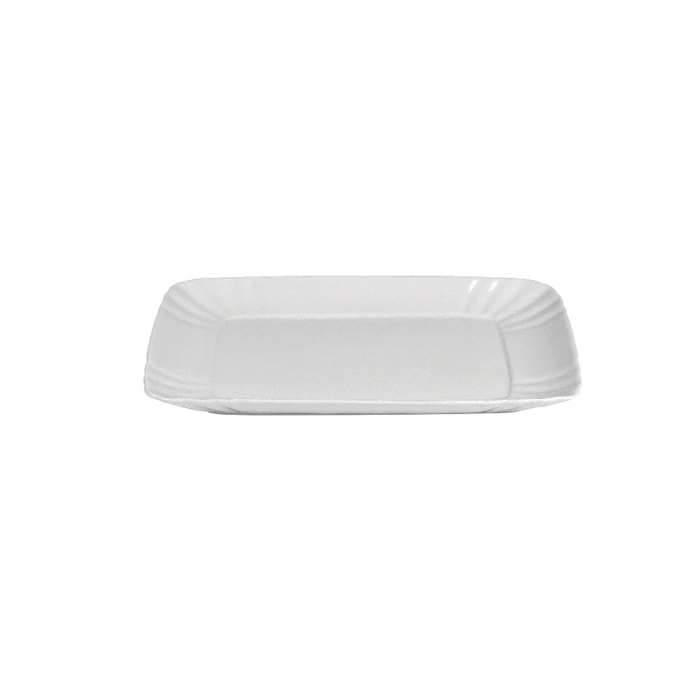Vassoietto Vintage in porcellana bianca cm 22,3x14x2