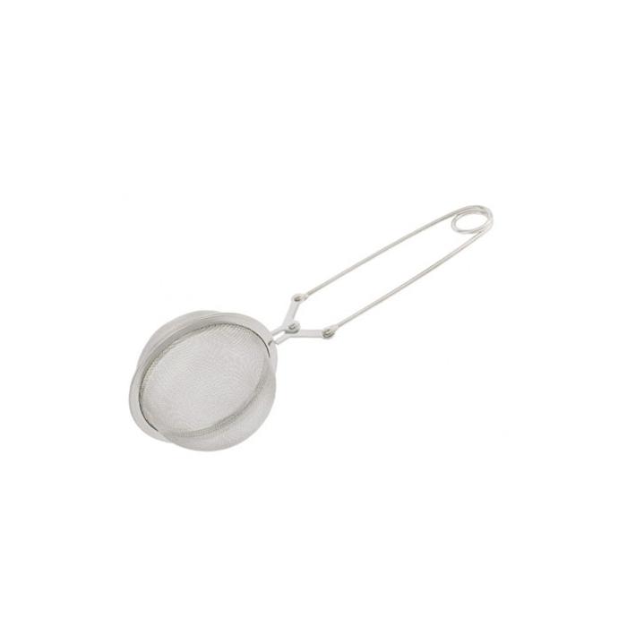 Filtro tè a pinza in acciaio inox cm 16,5x4
