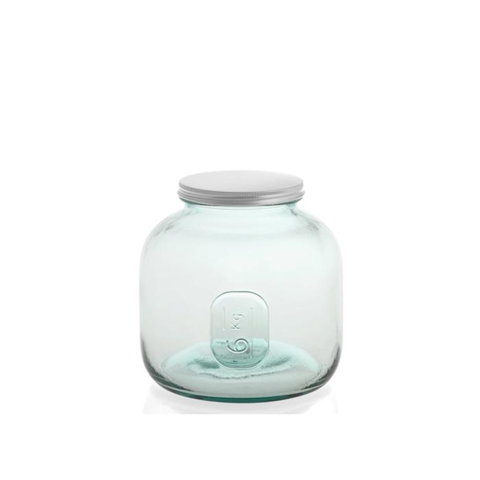 Vaso Ermetico Storage con tappo a vite in vetro kg 6