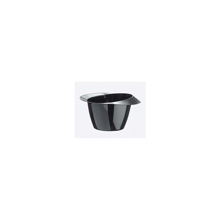 Coppetta York monouso in plastica nera cl 5