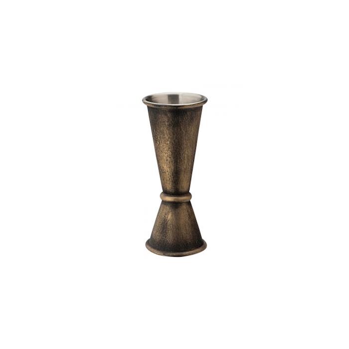 Bar caddy liscio a listarelle in legno cm 24x14,5