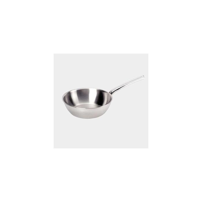 Casseruola conica induzione Priority De Buyer un manico in acciaio inox cm 16