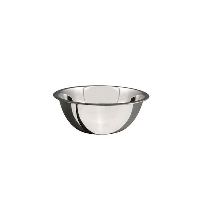 Bowl semisferica Salvinelli in acciaio inox cm 34