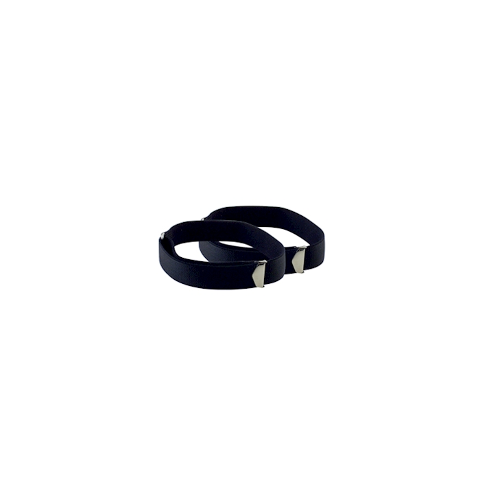 Fasce ferma maniche in elastico nero