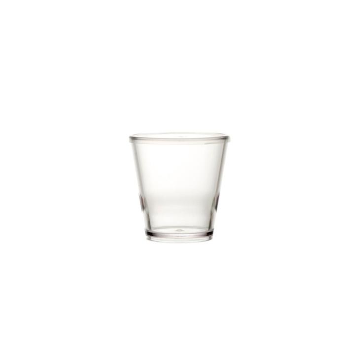 Bicchiere Moka in san trasparente cl 8