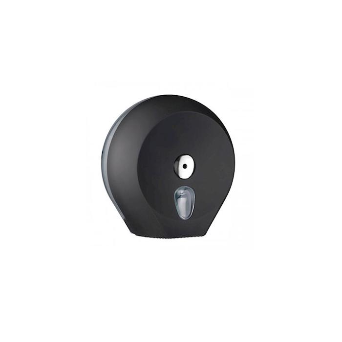 Porta rotolo mini Jumbo in plastica nera