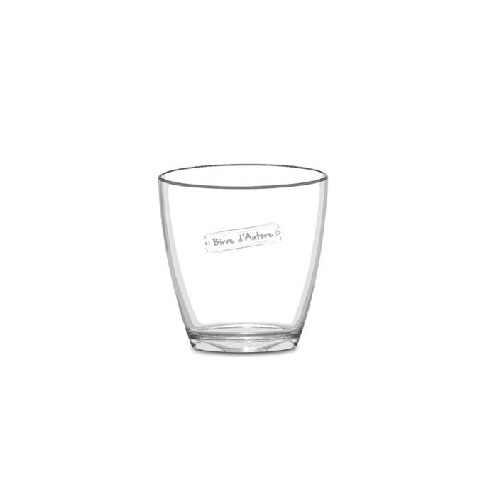 Secchiello Nice Birre d'Autore in plastica trasparente cm 21,5x16x23