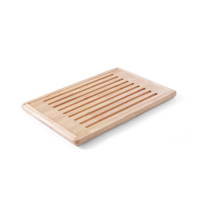 Tagliere rettangolare Hendi in legno naturale cm 47,5X32,2