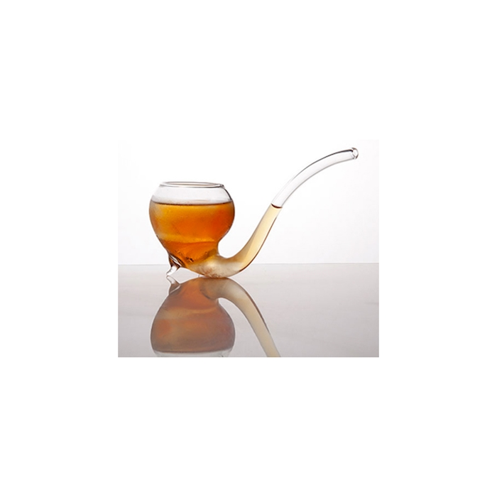Bicchiere Sherlock Pipe 100% Chef in vetro borosilicato cl 15