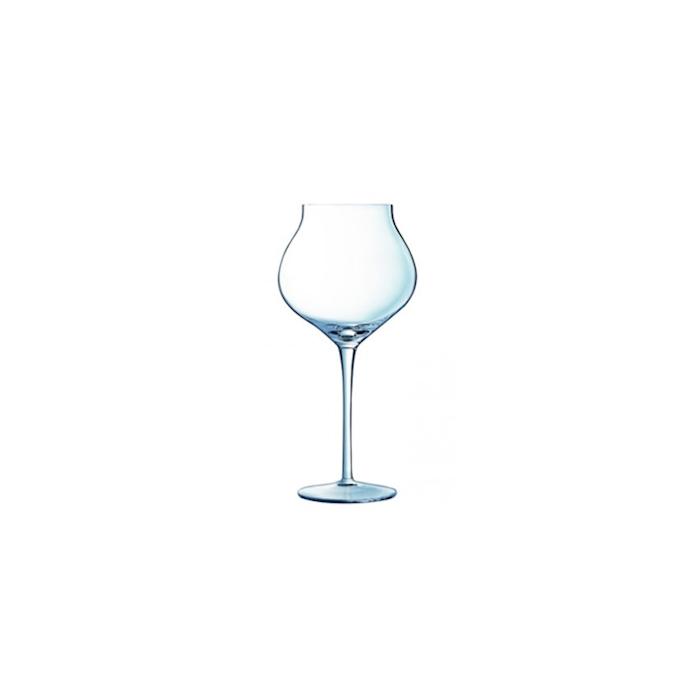 Calice Macaron Fascination in vetro trasparente cl 40