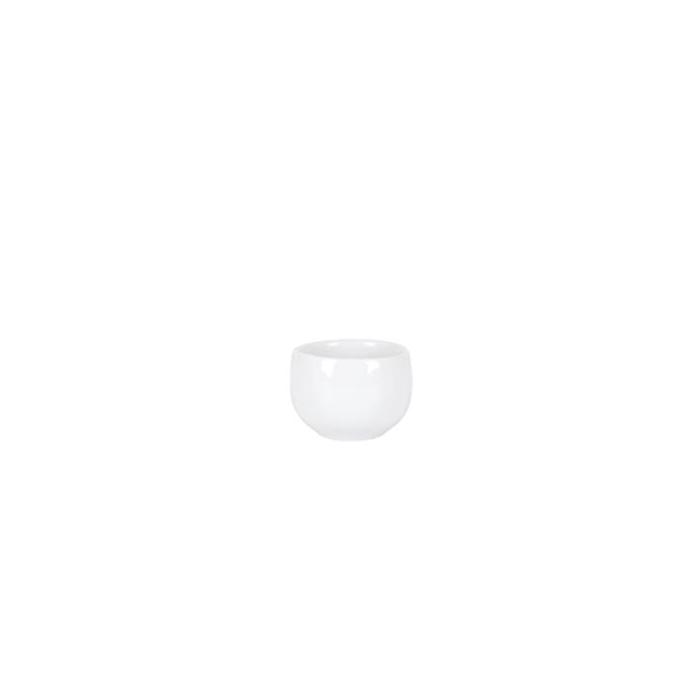 Coppetta chupito in porcellana bianca cl 4