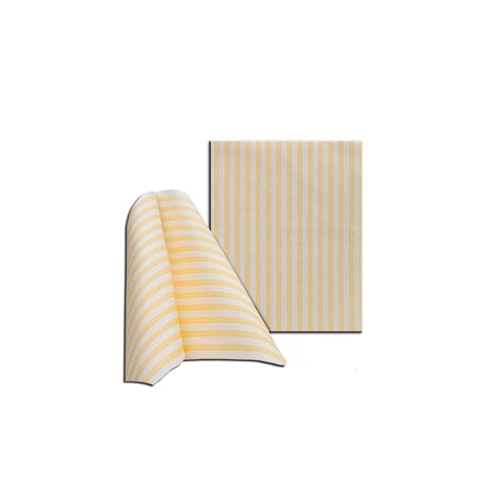 Tovagliolo Capri in cellulosa bianca e gialla cm 30x40