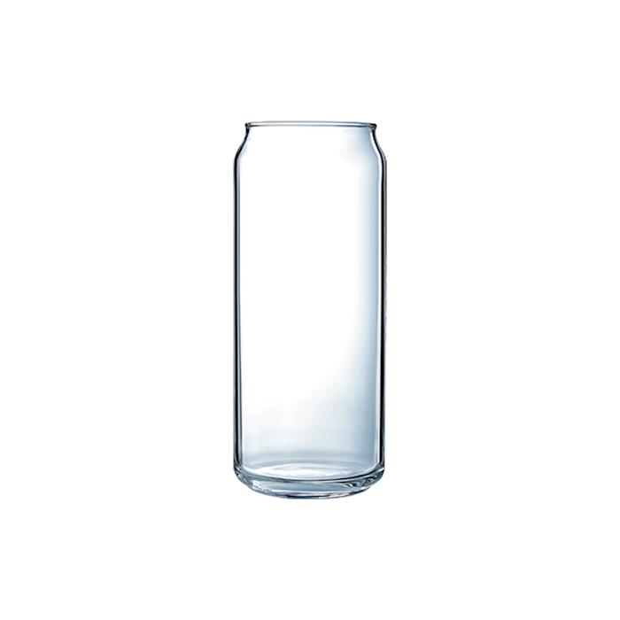 Bicchiere lattina Plain Can basso Arcoroc in vetro cl 47,5