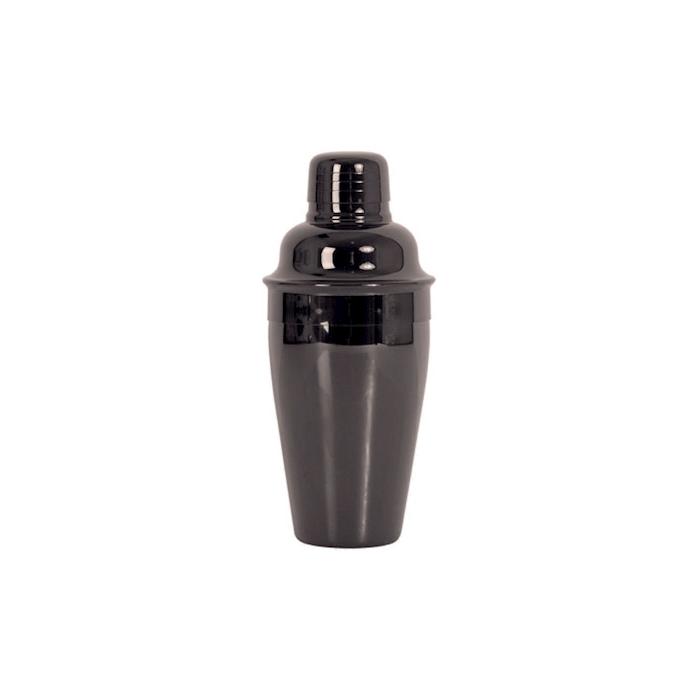 Shaker cobbler in acciaio inox nero cl 75