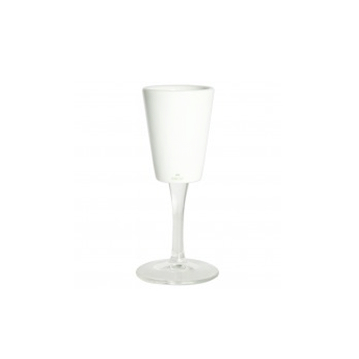 Cafluttino Degustazione in vetro e porcellana cl 6,5