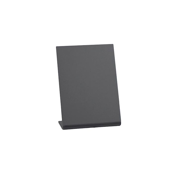 Lavagna da tavolo in acrilico nero cm 11,5x7,5x4,5