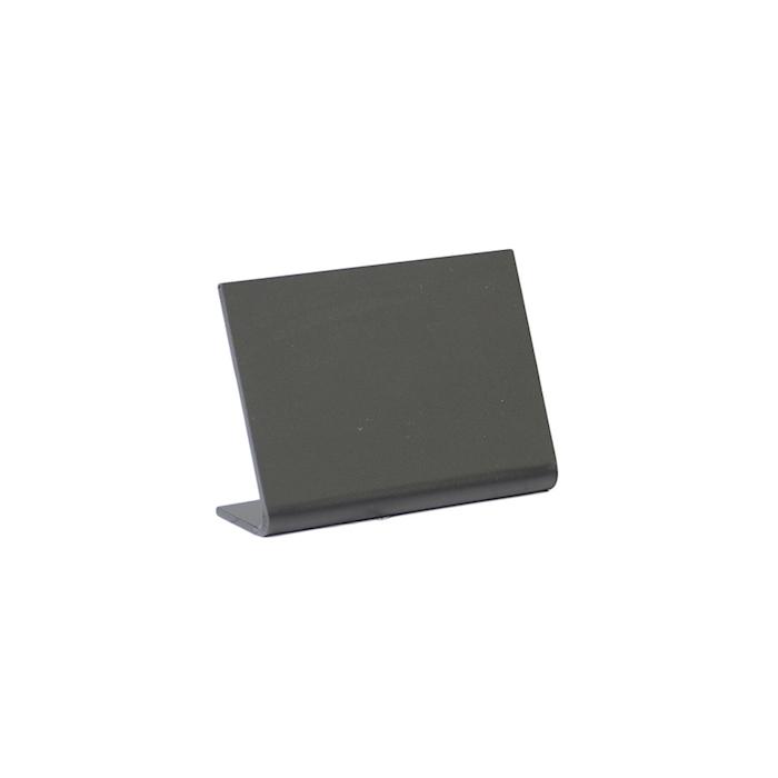 Lavagna da tavolo in acrilico nero cm 5,5x7,5x2,5