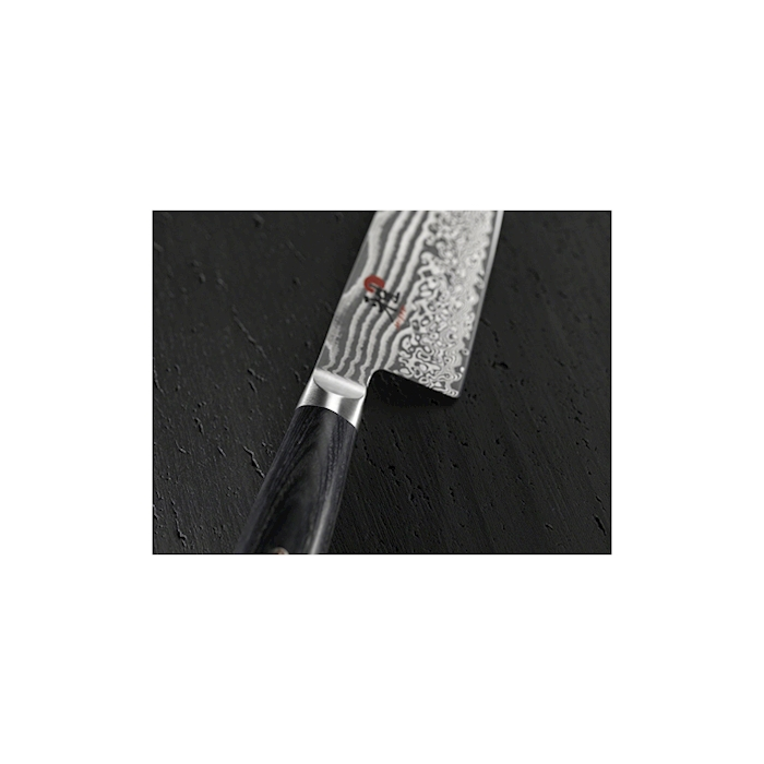 Coltello Cuoco giapponese Gyutoh Miyabi in acciaio damasco cm 20