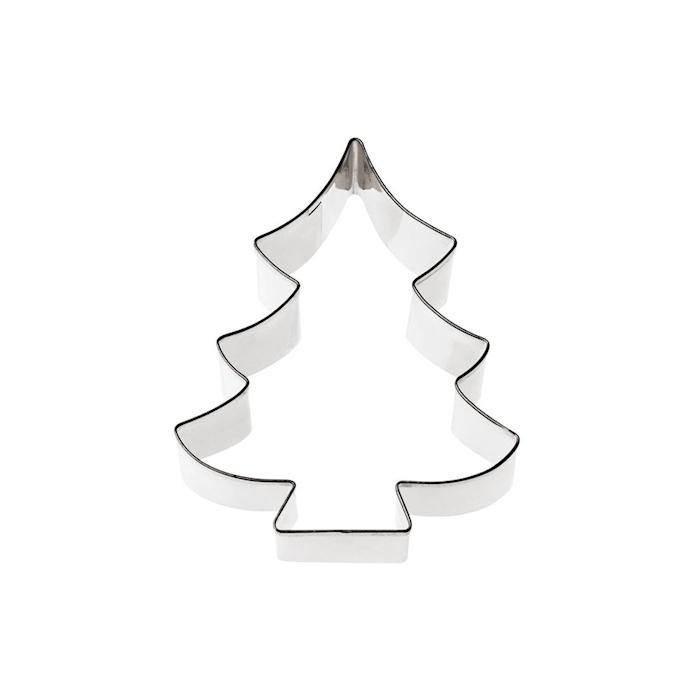 Tagliapasta Albero di Natale in acciaio inox cm 8