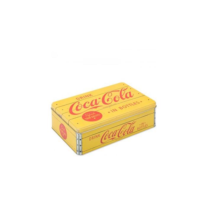 Scatola Retro Coca Cola in latta con stampa cm 23x16