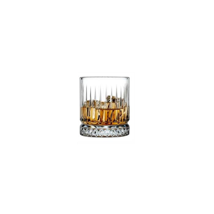 Bicchiere Elysia in vetro decorato cl 35,5