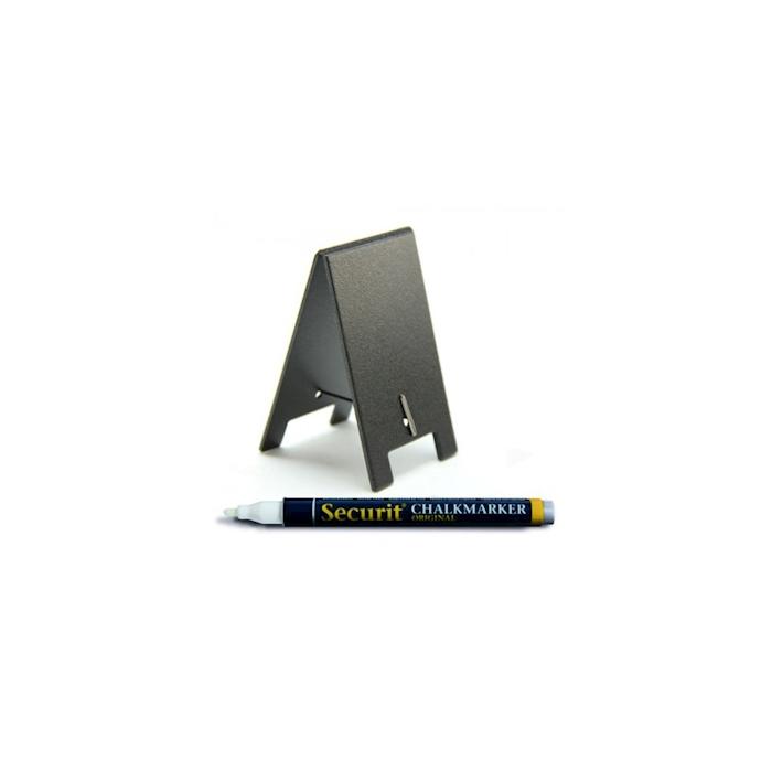 Mini lavagne segnatavoli con pennarello cm 8,5x5
