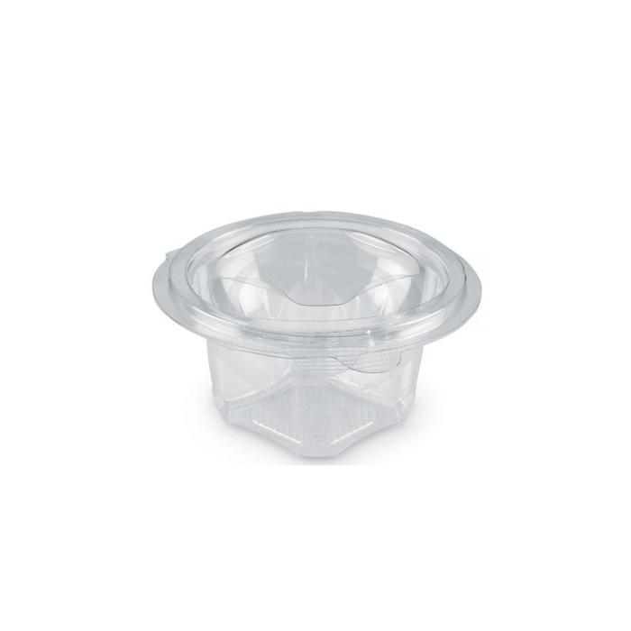 Insalatiera monouso con coperchio in pet trasparente cl 25