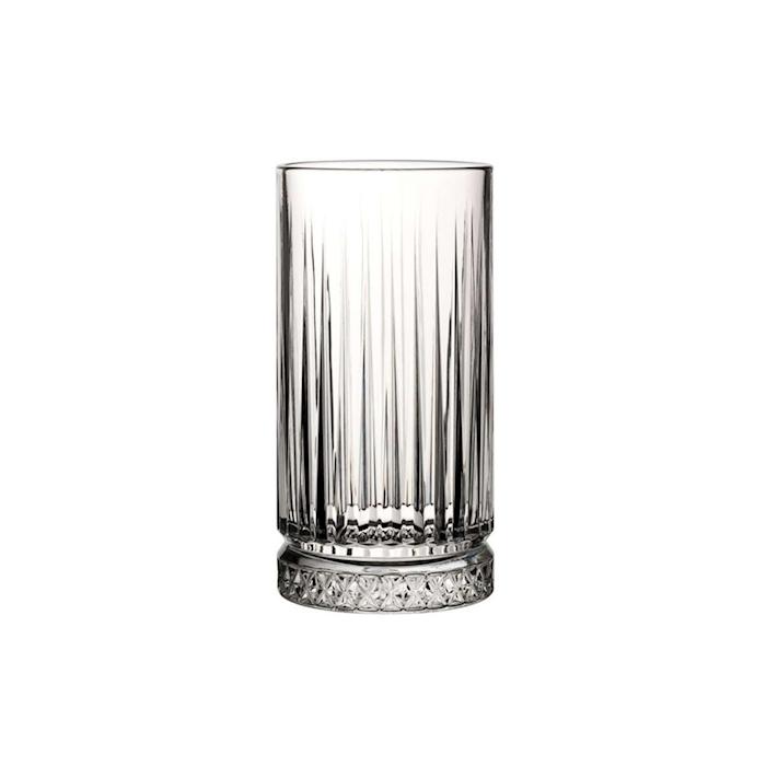 Bicchiere Elysia in vetro decorato cl 45,5