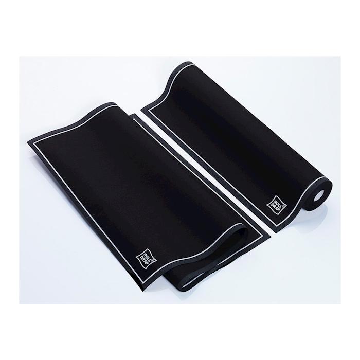 Rotolo Roll-Drap 10 canovacci 100% cotone nero cm 40x64